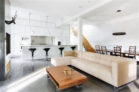 petit frigo de chambre cuisine ouverte sur salon en 55 idées 39 39 open space 39 39 superbes