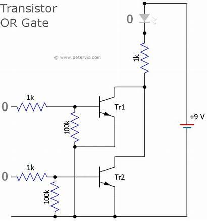 Logic Gate Transistor Gates Circuit Transistors Using
