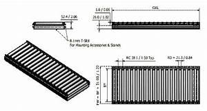 56gr Series Gravity Roller Conveyor