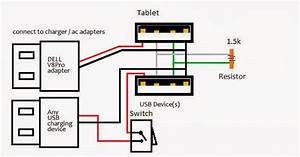 Venue 8 - Usb And Power At The Same Time
