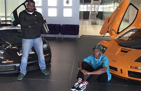 Rapper and Producer Tyler, The Creator Visits McLaren HQ ...