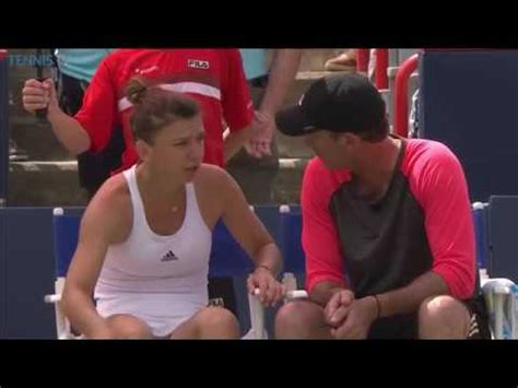 SIMONA HALEP has been compared to Rafael Nadal by her coach Darren Cahill. | Express.co.uk