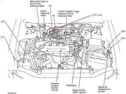 Altima Engine Diagram by 2001 Nissan Altima Engine Diagram Automotive Parts