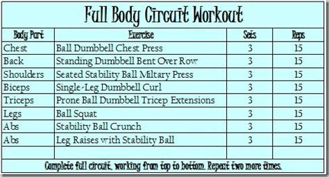 Standing Dumbbell Curl by Full Body Circuit Workout
