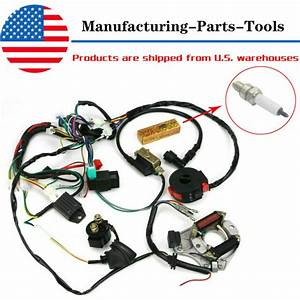 New Cdi Wire Harness Stator Assembly Wiring Set Atv