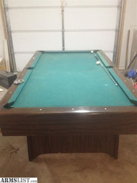 slate pool tables for sale armslist for sale 1 piece slate pool table for ar or