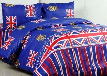 detail product seprei dan bedcover bendera inggris toko