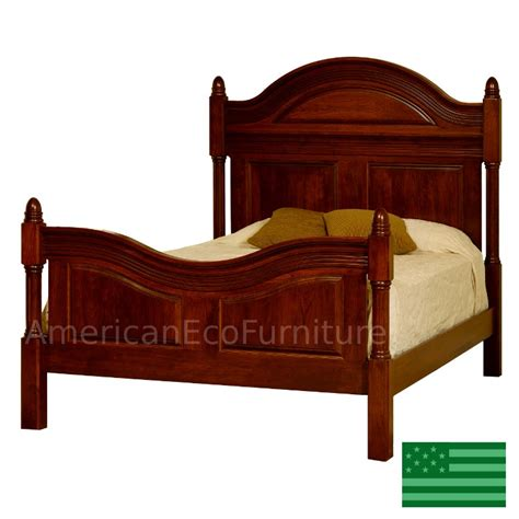 Furniture Made In Usa by Amish Montego Bed Solid Wood Made In Usa American Eco