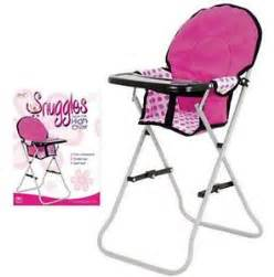 dolls high chair ebay