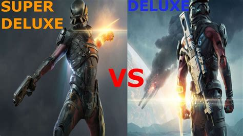 Mass Effect Andromeda Deluxe Edition Vs Super Deluxe