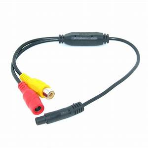 Car Video Cable Rca 4pin For Car Parking Rearview Rear