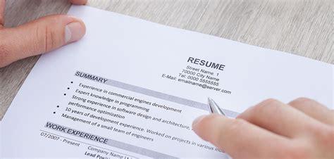 career one resume writing