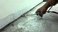 壁癌處理、抓漏防水、漏水、浴室漏水、複合式工法 - YouTube