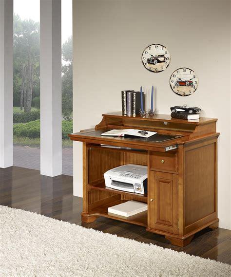 petit bureau en bois petit bureau informatique elise en merisier de style louis