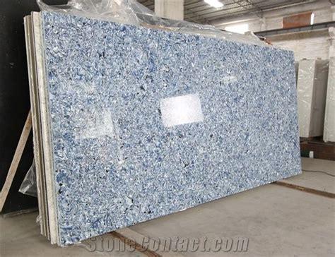 Ocean Blue Quartz Stone Slab, Artificial Blue Quartz Stone