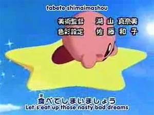 ANIME: Hoshi no Kirby Opening (JAPANESE ONE) - YouTube