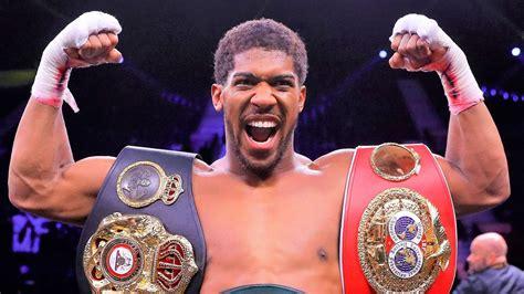 Anthony Joshua will defend world heavyweight titles ...
