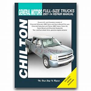 Chilton Repair Manual For 2007-2014 Chevrolet Silverado 2500 Hd