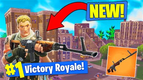 town rifle coming  fortnite battle royale youtube