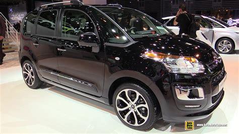 citroen c3 2015 2015 citroen c3 picasso hdi exclusive exterior and interior walkaround 2014 auto show