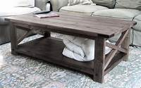 diy coffee table plans Ana White | Rustic X Coffee Table - DIY Projects