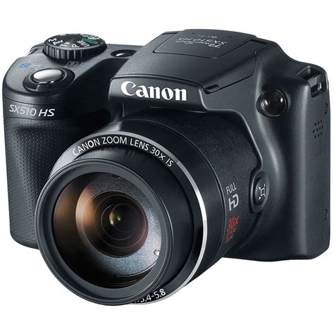 canon point and shoot canon power sx510 hs point and shoot 8409b001 b h