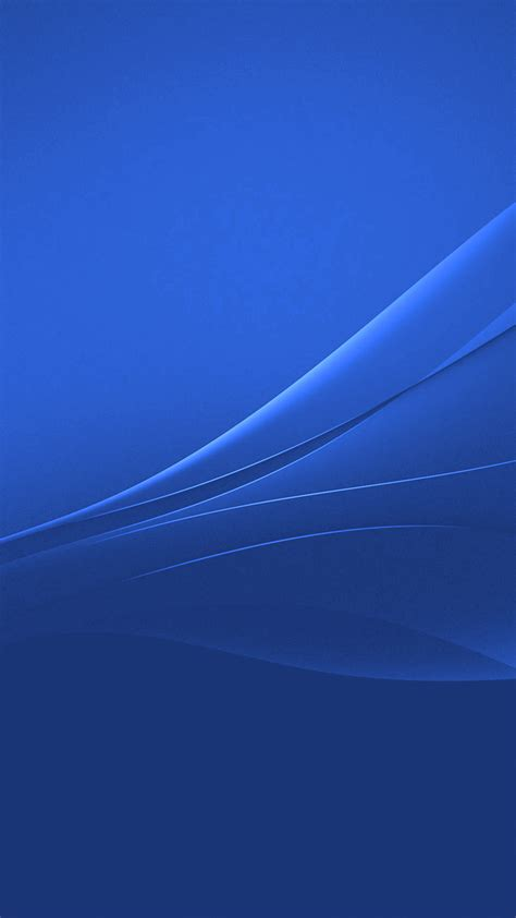 Android Lock Screen Blue Wallpaper Hd by Blue Xperia Lollipop Experience Flow Wallpaper Gizmo