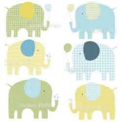 Boy Baby Shower Elephant Clip Art