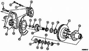 I Need A Diagram For 1995 4 Wheel Drive Ford F 150 Hub