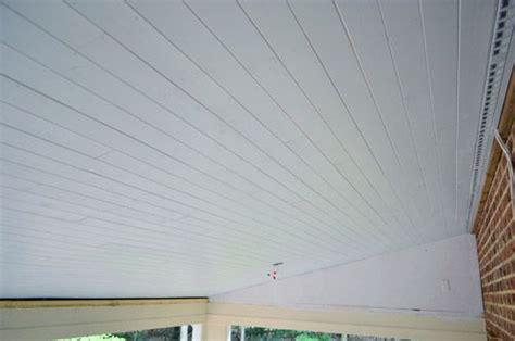 vinyl plank flooring on ceiling we ll take one beadboard ceiling please