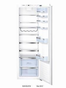 Refrigerateur 1 Porte Noir : r frig rateur encastrable bosch kir81af30 ~ Dailycaller-alerts.com Idées de Décoration
