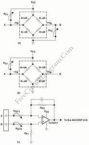Pressure Sensor  U2013 Electronic Circuit Diagram