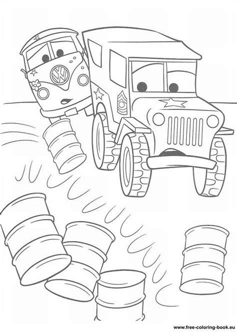 coloring pages cars disney pixar page  printable