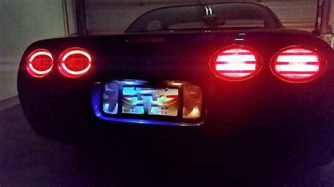 c5 corvette tail lights fs c5 halo led tail lights tailights from corvette envy
