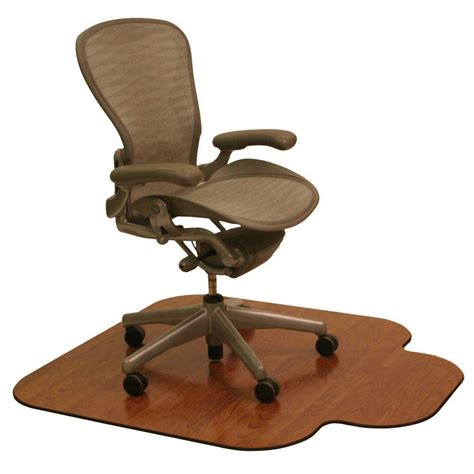 wood office chair and casters