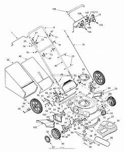Mtd 12as569t401  2003  Parts Diagram For General Assembly