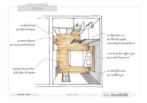 salle de bain dans chambre parentale plan chambre parentale avec salle de bain et dressing 6