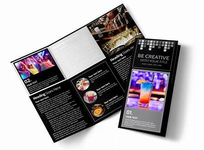 Brochure Cocktail Template Funky Lounge Fold Tri