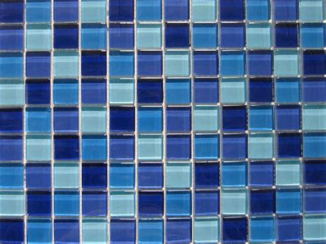 blue glass tile tile featherednestdiaries
