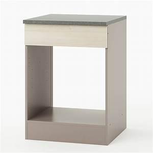 meuble pour four encastrable haut cuisine en image With meuble pour four encastrable en hauteur