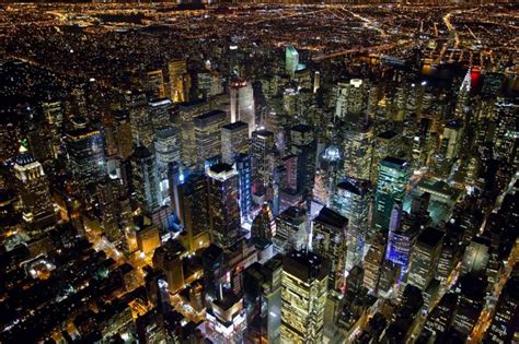 New York City at Night by Evan Joseph