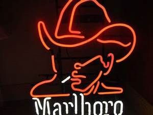 Marlboro Man Neon Sign For Sale in Citywest Dublin from