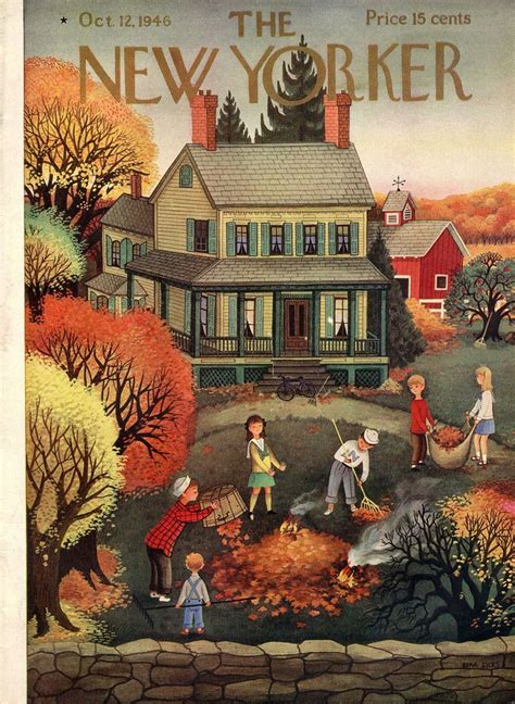 New Yorker - October 1946 | Autumn art, The new yorker ...
