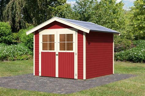 Gartenhaus Holz Rot by Garten Gestalten Mit Der Farbe Rot Beet Zu Gartenhaus