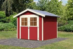 Gartenhaus Streichen Lasur : garten gestalten mit der farbe rot von beet zu gartenhaus ~ Frokenaadalensverden.com Haus und Dekorationen