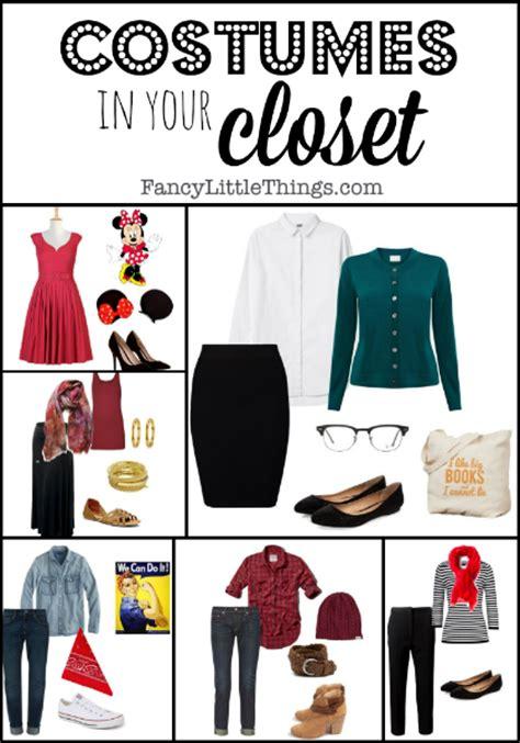 costumes in your closet