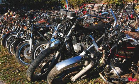 Honda Motorcycle Junkyard Southern Ontario Canada