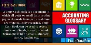 Peddy Cash What Is Petty Cash Book Exceldatapro