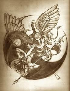 Angel Vs Demon Tattoo Design Photo – 12   Ideas Tattoo ...