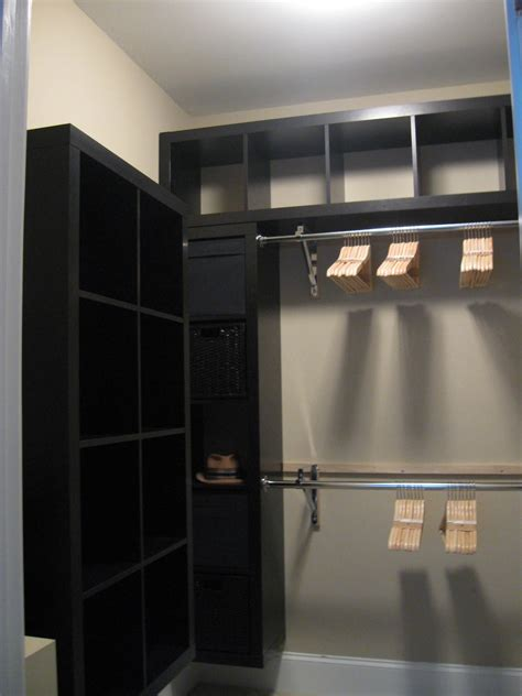 expedit closet small walk in ikea hackers ikea hackers